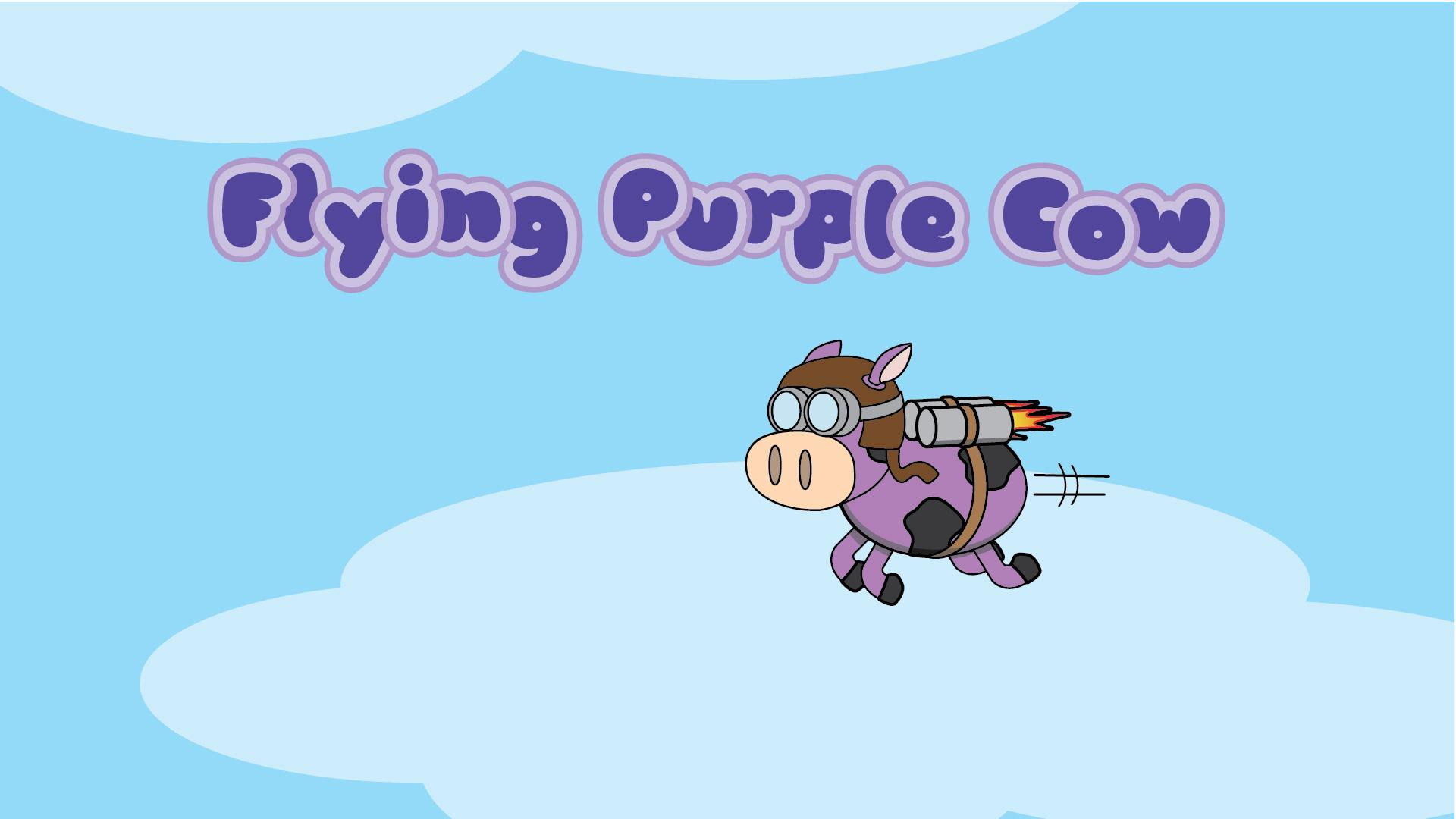 Flying Purple Cow